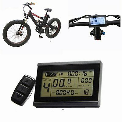24-48V Risunmotor LCD3 Display Meter / Control Panel For e-Bike Electric Bicycle