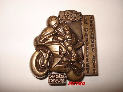 Medaille Bol D'or Circuit Paul Ricard Moto Revue Septembre 2015