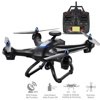 X183 Drone HD 720P Wifi Camera 2.4G Quadcopter Single GPS Brushless UK Stock New