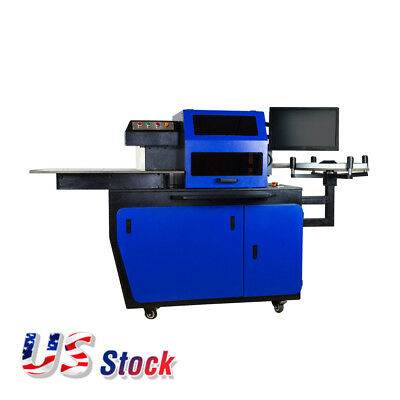 US Stock Automatic CNC Metal Channel Letter Bender Machine, AC220V, 50Hz, 2.4KW