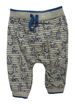 NEW! Disney Baby Boys Tigger Grey Blue Trousers Joggers Bottoms Age 3-6 Months