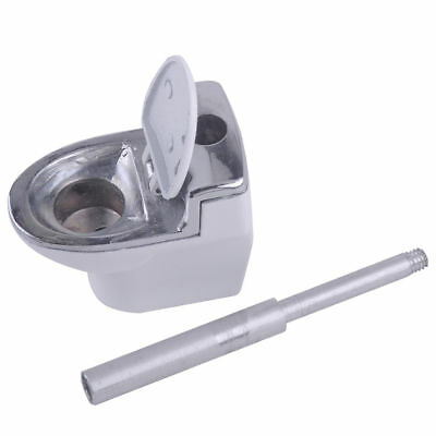1 pcs Smoking Pipe Toilet Bowl Durable Smoke Cigarette Tobacco Cigar Collecting
