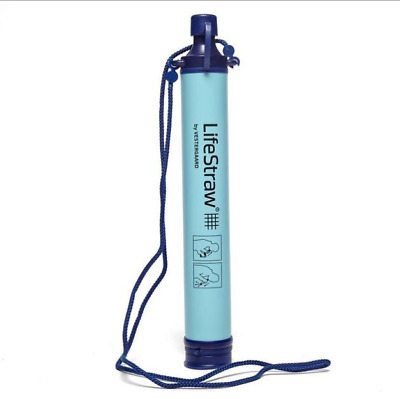 LifeStraw Personal Water Purification Filter Portable Drinking Purifier