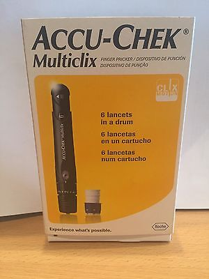 Accu-chek multiclix finger prickers