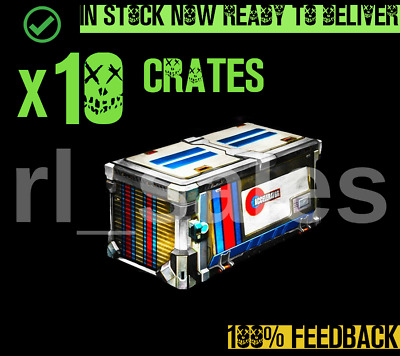Rocket League x10 Accelerator Crate New Xbox One ACC AC PCC CC4 NC ODC IN STOCK