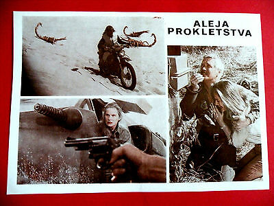 Damnation Alley '77 Sci-Fi Jan-Michael Vincent George Peppard Exyu Movie Program