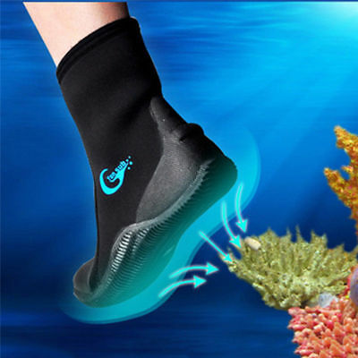 5MM Neoprene Men Swim Diving Scuba Surfing Swimming Shoes Snorkeling Pair Boots