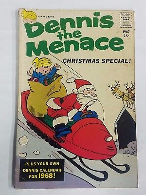 Dennis The Menace Comic Book, Christmas Special, # 51 Winter ( 1967 )