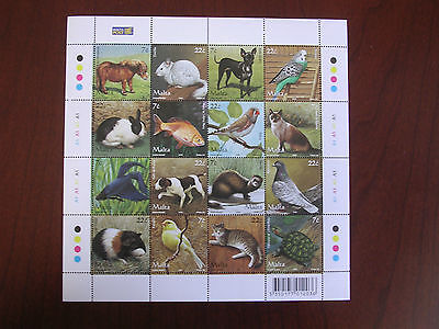 Malta 2006 Miniature Sheet Domestic Pets Unmounted Mint SC1238