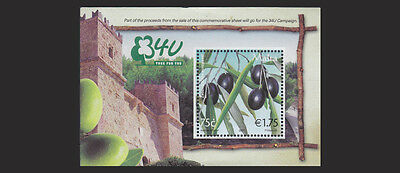 MALTA 2007  3FU  Souvenir Sheet  Mint NH  Scott No 1313  VF