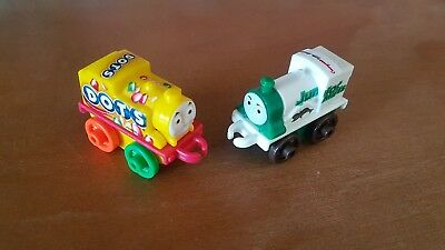 Thomas and Friends minis: NEW 2016/2 tootsies Dots Thomas and Junior Mints Emily