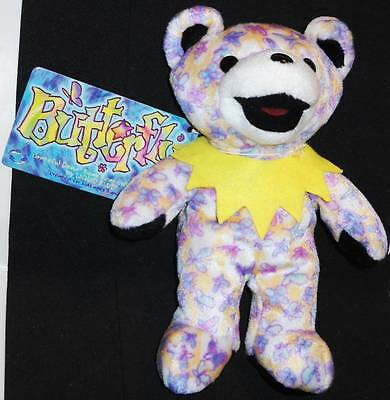 Grateful Dead Bean Bear Butterfly Tour Memory 1993 With Tag.  New