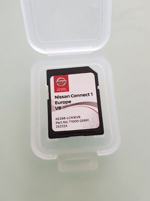 New !!! Carte SD ORIGINALE GPS Europe 2018 V8 - Nissan Connect 1 LCN1 (SD CARD)