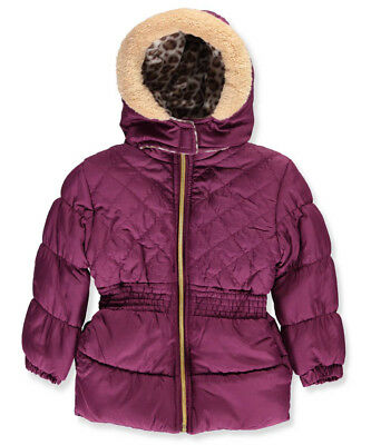 Pink Platinum Little Girls' Toddler Insulated Jacket (Sizes 2T - 4T)