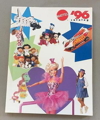 Mattel 1996 Toy Fair Catalog Barbie Hot Wheels Disney Nickelodeon 233 Pages