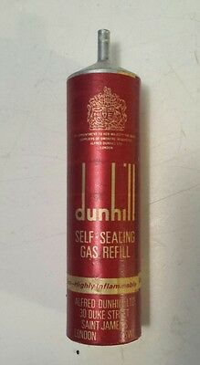 """Rare British (London Sw) """"dunhill Self Sealing Gas Refill For Lighters - Empty"""