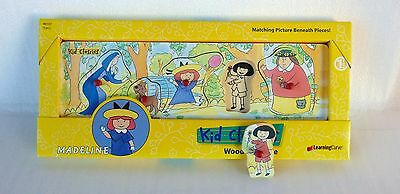 Madeline Wooden Puzzle - Kid Classics Learning Curve 1997