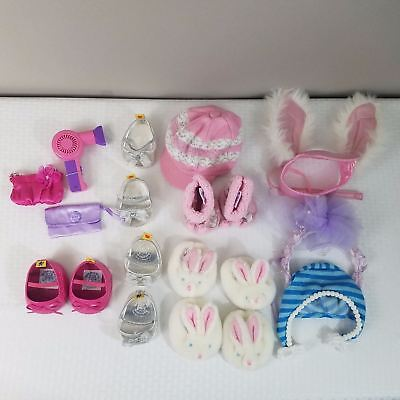 Lot of Build-a-Bear Accessories Shoes Boots Hats Purses, Etc