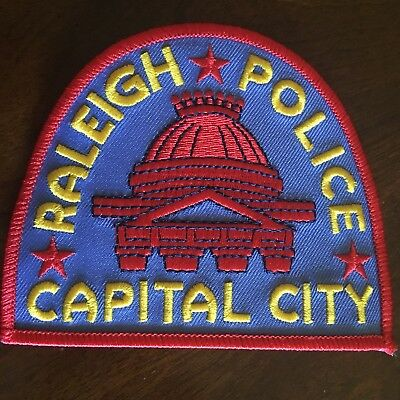 Raleigh Police Patch North Carolina