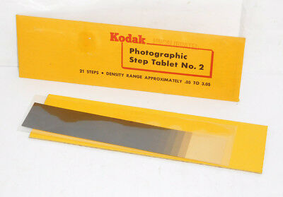 Kodak Uncalibrated Step Tablet No. 2 - 21 Steps Approx. .05 - 3.05