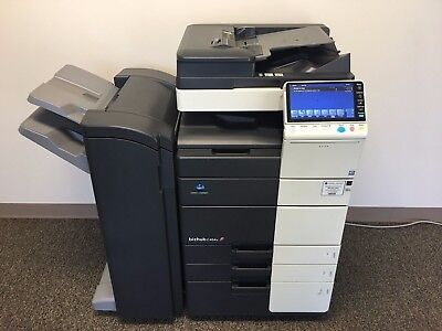 Konica Minolta Bizhub C454e Color Copier Printer Scanner Network LOW 191k total
