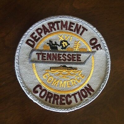 Tennessee Corrections Patch