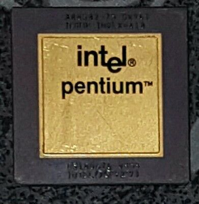 Intel Pentium IBM Cyrix cpu's for gold recovery