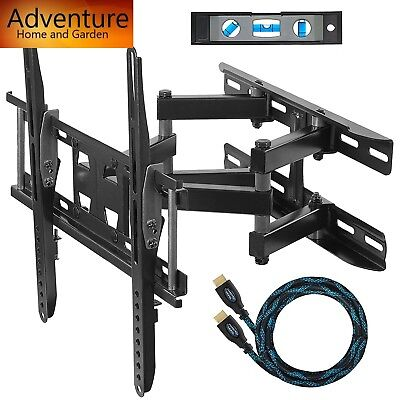 "TV Mount Wall Bracket 20""-65""Stand LCD Flat Screen Full Articulating Universal"