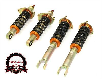Yonaka 04-08 Mazda RX-8 Suspension Coilovers Shocks Struts Springs Damper Kit