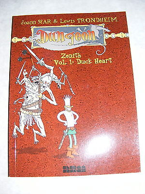 DUNGEON - ZENITH Vol 1 - Duck Heart - NBM - Joann Sfar Lewis Trondheim - NEW