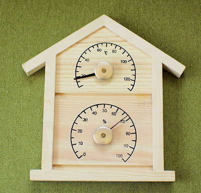 """Tradition large  """"house"""" style  Thermometer and Hygrometer"""