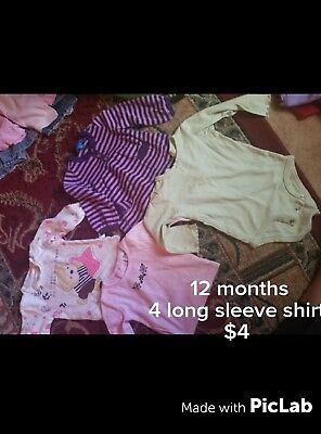 12 months girl clothes