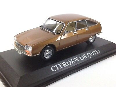 Ixo Altaya 1/43 Citroen Gs 1971 Marron Brown Nuestros Queridos Coches