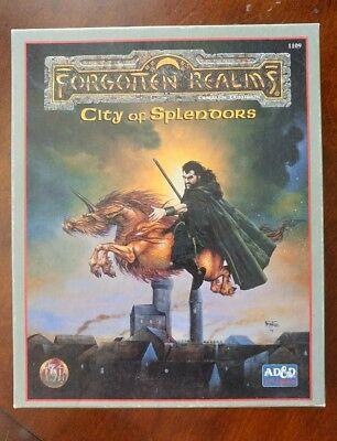 Dungeons & dragons Ad&d City of Splendors