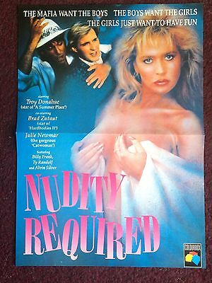 Nudity Required - Movie Poster