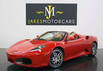 2006 Ferrari 430 Spider F1...ONLY 7300 MILES! 2006 FERRARI F430 SPIDER F1, ONLY 7300 MILES! RED/TAN, HIGHLY OPTIONED, PRISTINE
