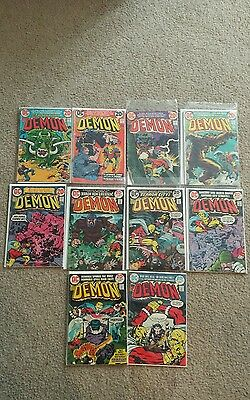 The Demon Run Lot  10 books Issues 3-15