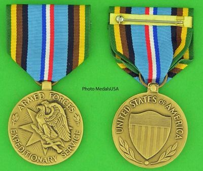 ARMED FORCES EXPEDITIONARY MEDAL - full size - Made in the USA - USM089 - AFEM