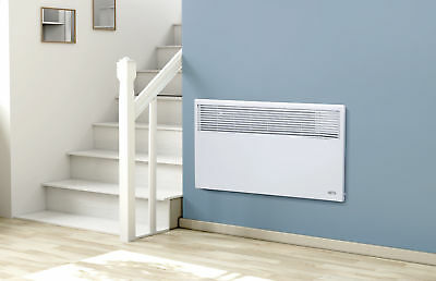 2000W Electric Slimline Panel Heater Radiator with Timer & Thermostat