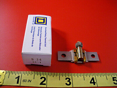 Square D B36 Overload Relay Thermal Unit Element Heater B 36 Nib New