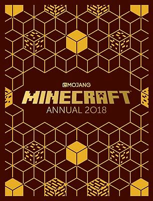 The Official Minecraft Annual 2018: An official book Egmont Mojang BRAND NEW