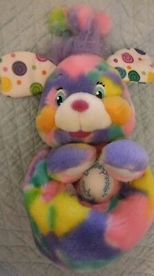 Popples Pixie Doodle Tye Dye Popple Plush Those Characters From Cleveland