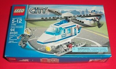 Lego City - New - 7741 - Police Helicopter