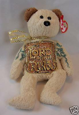 Ty Beanie  Huggy Handpainted w/ Lord of the Rings LOTR