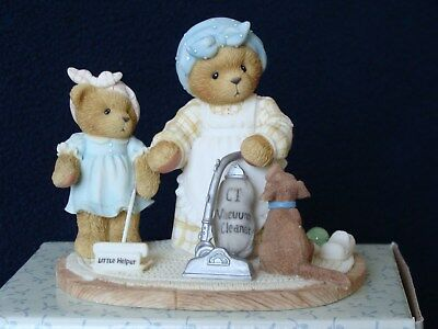 """Cherished Teddies - Charlotte & Elaine -""""A Woman's Work Is Never Done!""""- 864226"""