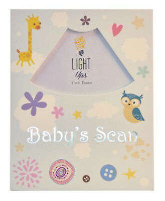 Baby Boy Or Girls ~ Light Up ~ UltrasoundBaby Scan Photo Frame KEEPSAKE Gift
