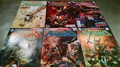 DC Comics ODYSSEY OF THE AMAZONS (2017) 1-6 Full set Wonder Woman