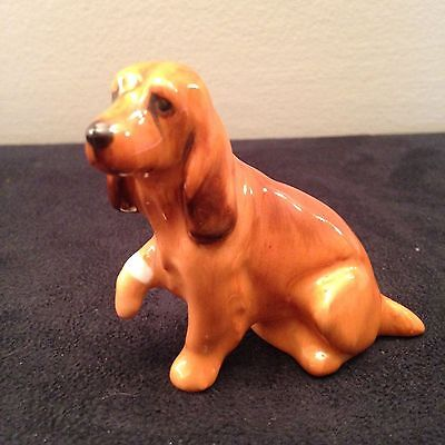 Royal Doulton Cocker Spaniel puppy with injured paw. K9 perfect FREE SHIPPING