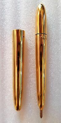 Eversharp/Kimberly Gold Pocket Pen Mid 1950's Excellent Condition Working Refill