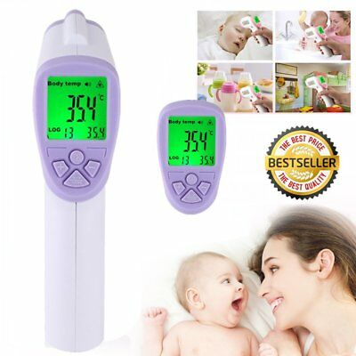 Non-Contact IR Thermometer Infrared Digital Laser Gun For body Scanner BP